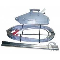 Treuil manuels à câble TIRFOR - Capacité de 1,7 tonnes, Fi_68017