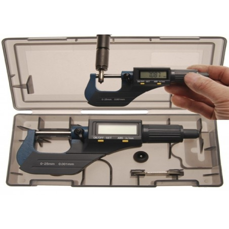 Micromètre Numérique, Digital