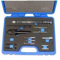 Coffret extracteur bougie de prechauffage et réparation de filetage- 10016