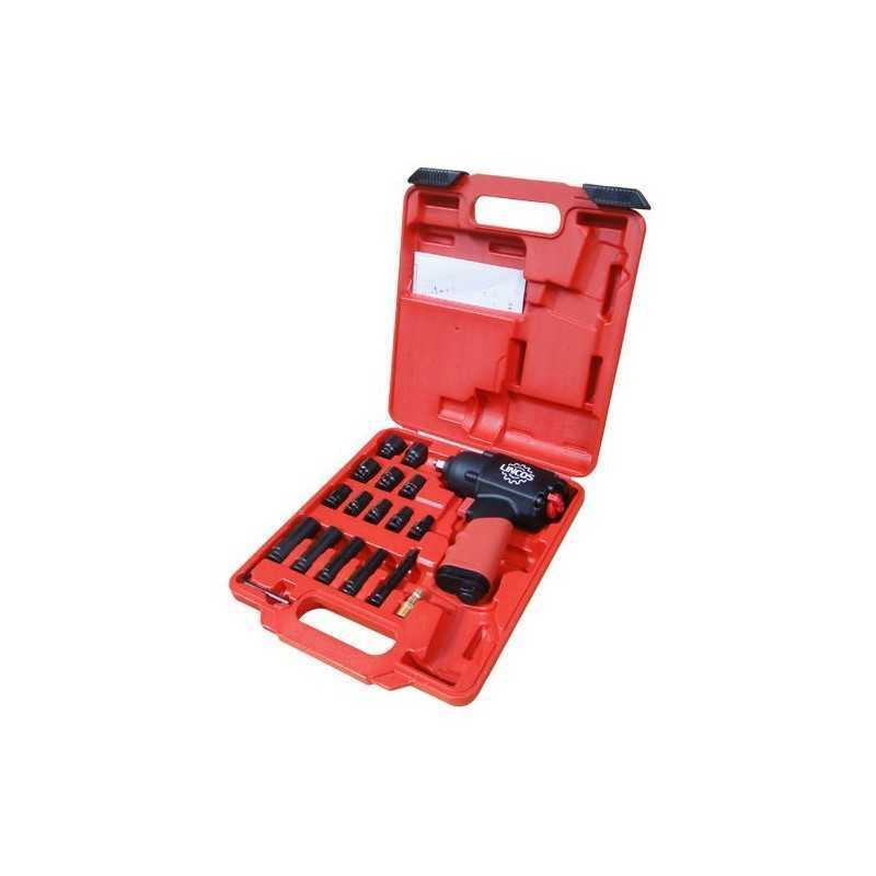 """Kit de Clé à choc pneumatique 3/8"""" 380Nm ATW SC0981TK"""