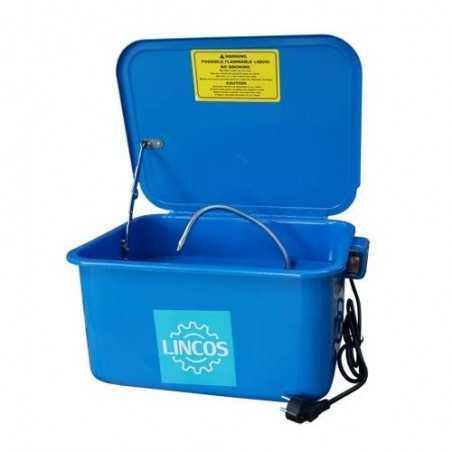 Bac de lavage pour pieces mecaniques mobiles 22L, LN-PW3