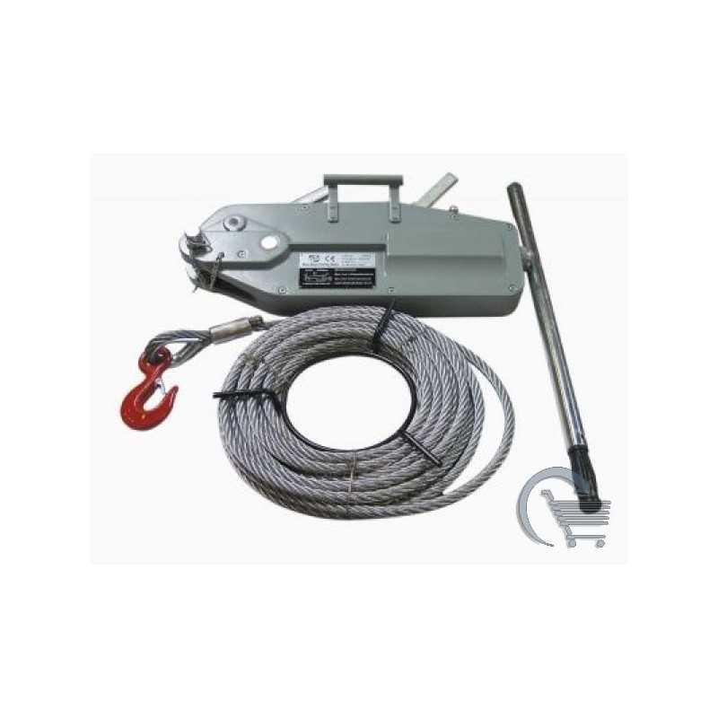Treuil manuels à câble TIRFOR - Capacité de 3,2 tonnes