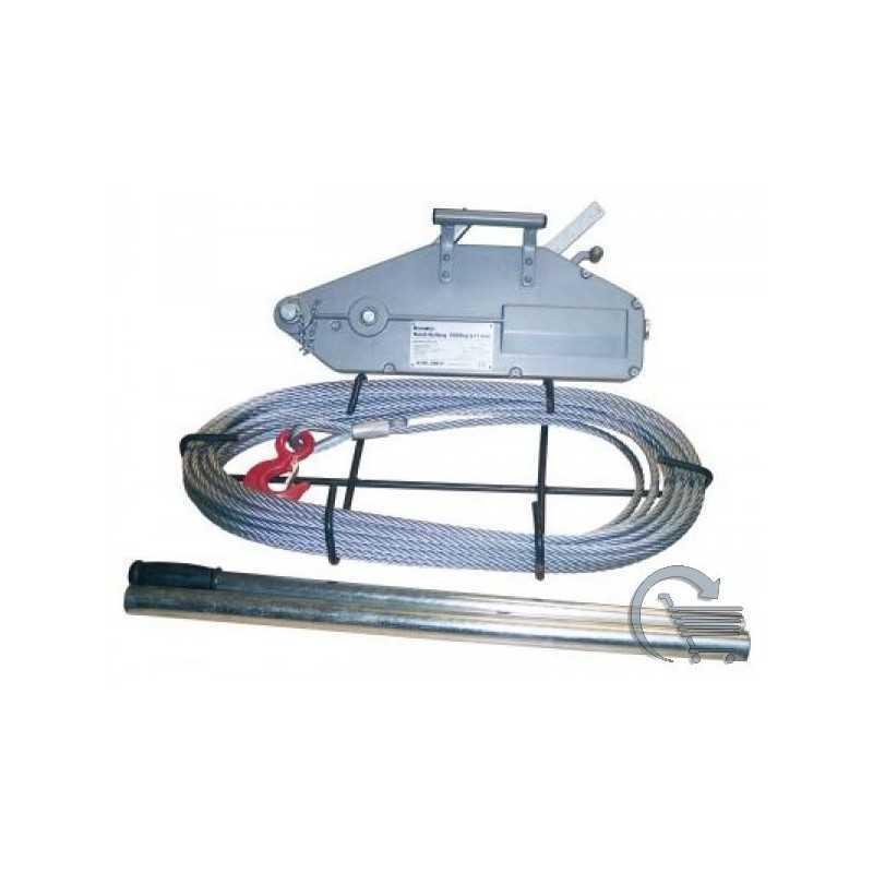 Treuil manuels à câble TIRFOR - Capacité de 1,6 tonnes 20 mL