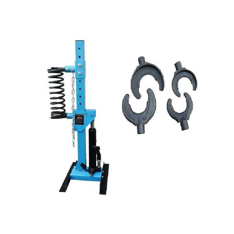 Compresseur de ressorts d'amortisseurs hydraulique