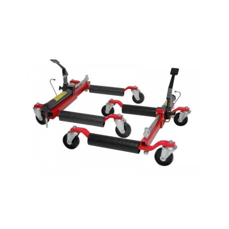 Paire Chariot,Cric de deplacement hydrauliques, pour véhicules