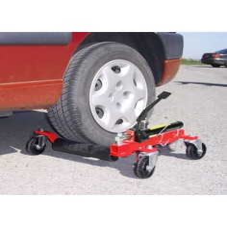 Paire Chariot Cric de déplacement hydrauliques pour véhicules