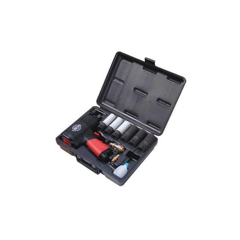 """Kit de Clé à choc pneumatique 1/2"""" 1356Nm ATW-SC1281TK2"""