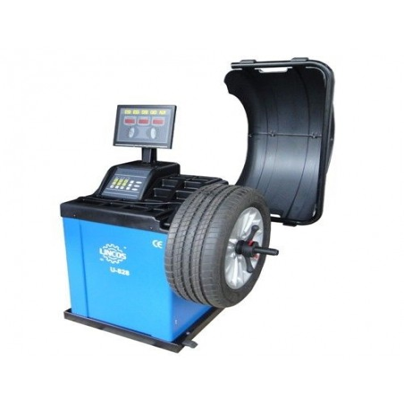 Machine d'équilibrage pneumatique automatique U-828