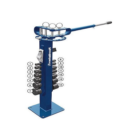 Plieuse, cintreuse manuelle pour acier plat, rectangle, rond jusque 180° Metallkraft UB10