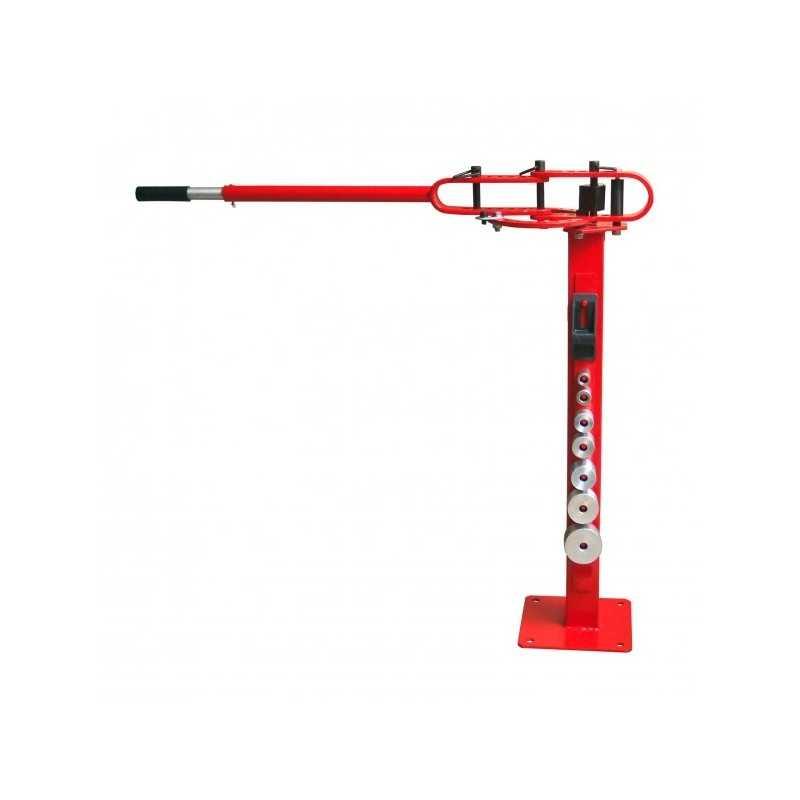 Cintreuse manuelle à fixer au sol pour tube en acier