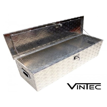 Coffre, caisse de transport en aluminium 165L
