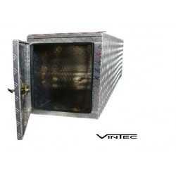 Coffre, caisse de transport en aluminium 790L