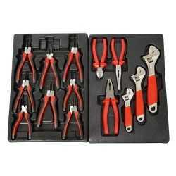 Servante d ateliers mobiles, avec 145 outils