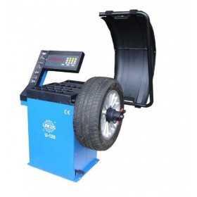 Équilibreuse de roue automatique, affichage à LED