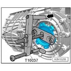 Outil spécial de levier VW - AUDI - T40243