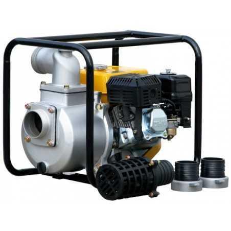 Pompe centrifuge Rotek WPG4-1000-25-H avec moteur à essence
