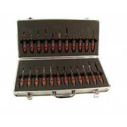 Jeu d'outils pour verrouillage des connecteurs électronique du véhicule 23 pcs