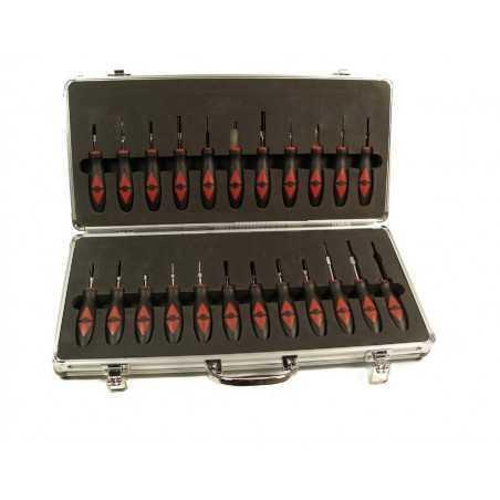 Kit outils pour verrouillage des connecteurs électronique du véhicule 23 pcs