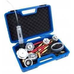 Kit de bouchons et raccords de purgeur de frein, 10 pièces