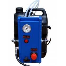 Purgeur pour circuit de freinage électrique, avec bouteille et tuyau de 3m