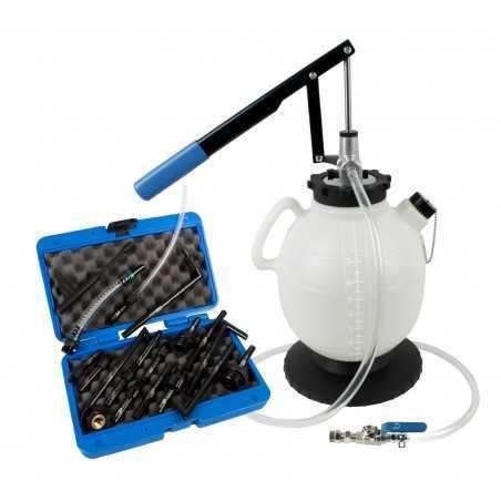 Outil de remplissage d'huile de boite DSGl avec 19 adaptateurs