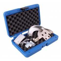 Coffret de montage pour courroies trapézoïdales, flexibles striées