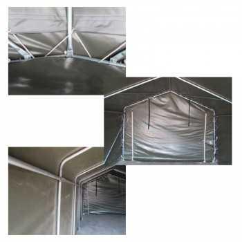 Tente de pâturage, Abri, Tente de stockage, 8,40 x 3,66 mL
