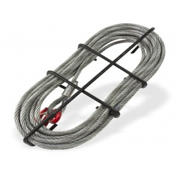 Câble en acier avec crochet de 11 mm x 20 m