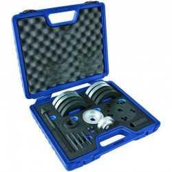 Coffret extracteur de roulement de roue, 31 pièces